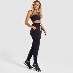 Gymshark Solace Bottoms 2.0 Joggers (Black, XS)
